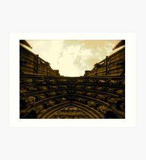 Strasbourg Cathedral - Above Door Art Print
