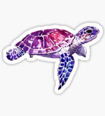 Sea turtle sticker Sticker