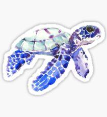 Water color sea turtle sticker Sticker