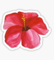 Hibiscus sticker Sticker