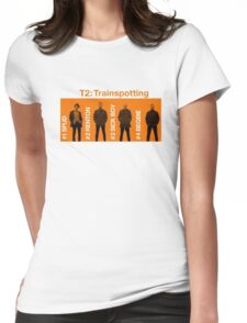 t2 trainspotting  Womens Fitted T-Shirt