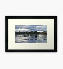 Water's View Framed Print