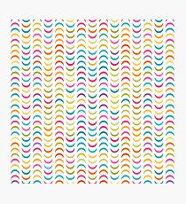 Colorful Geometric Pattern Photographic Print