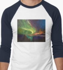 Aurora Borealis Men's Baseball ¾ T-Shirt