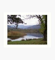 The Lake District 2 Art Print