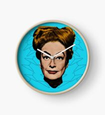 Joan Crawford- No Wire Hangers! Clock