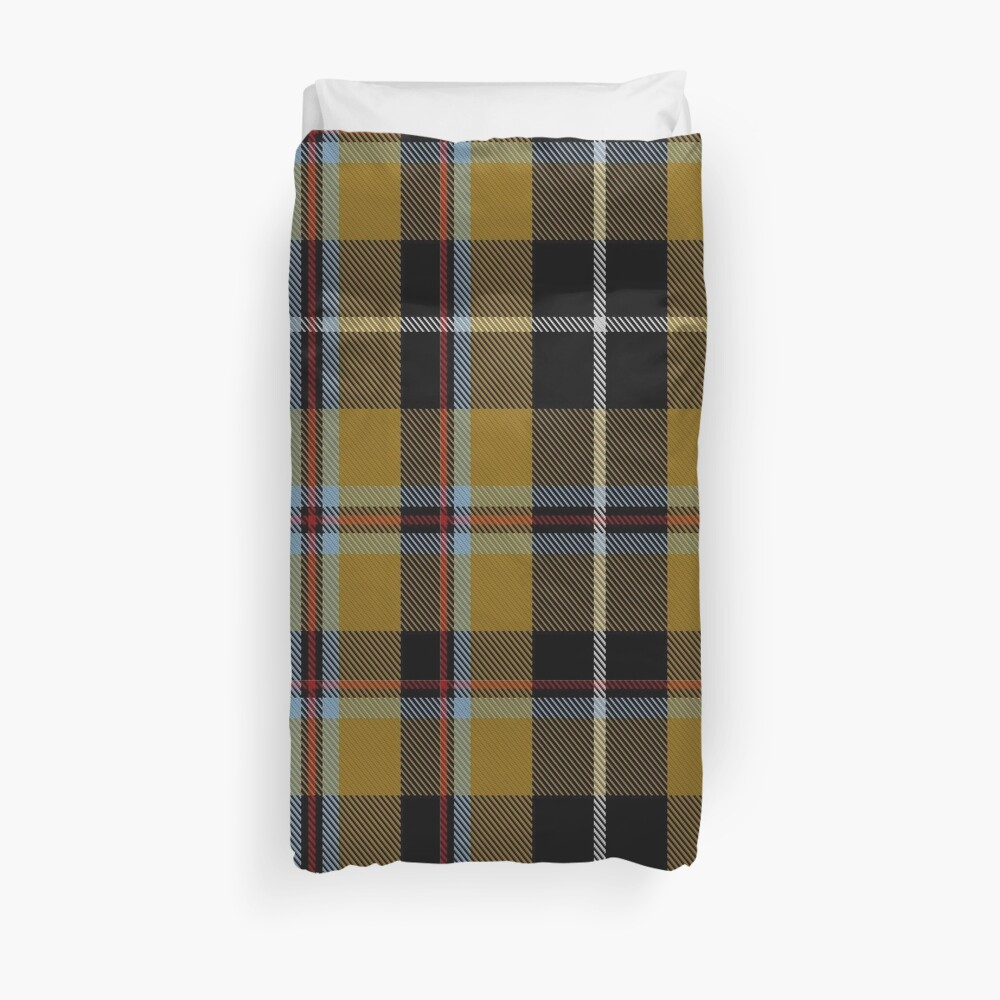 Cornish National District Tartan  Duvet Cover