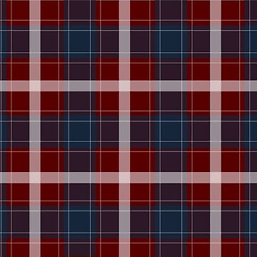 Blue and Red Plaid by somesac
