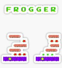 Frogger's Frustration - Devastation Sticker