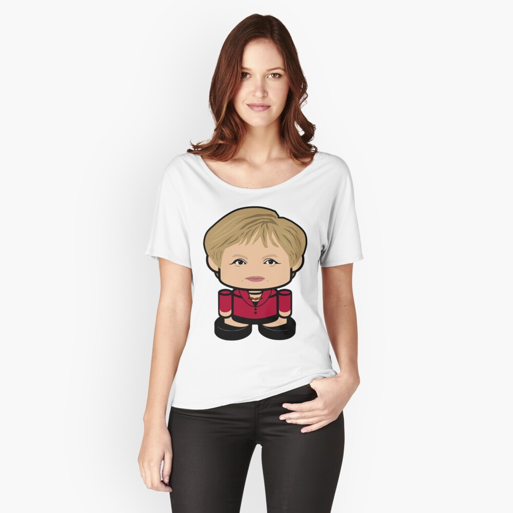 Mein Kasi POLITICO'BOT Toy Robot 1.0 Women's Relaxed Fit T-Shirt Front