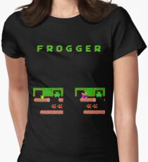 Frogger's Frustration 3 -  Only One More to Go Women's Fitted T-Shirt