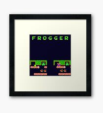 Frogger's Frustration 3 -  Only One More to Go Framed Print
