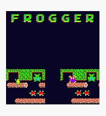 Frogger's Frustration 3 -  Only One More to Go Photographic Print