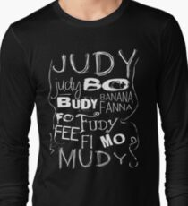 JUDY - The name game Remake White version Long Sleeve T-Shirt