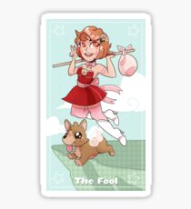 Magical Girl Tarot - The Fool Sticker