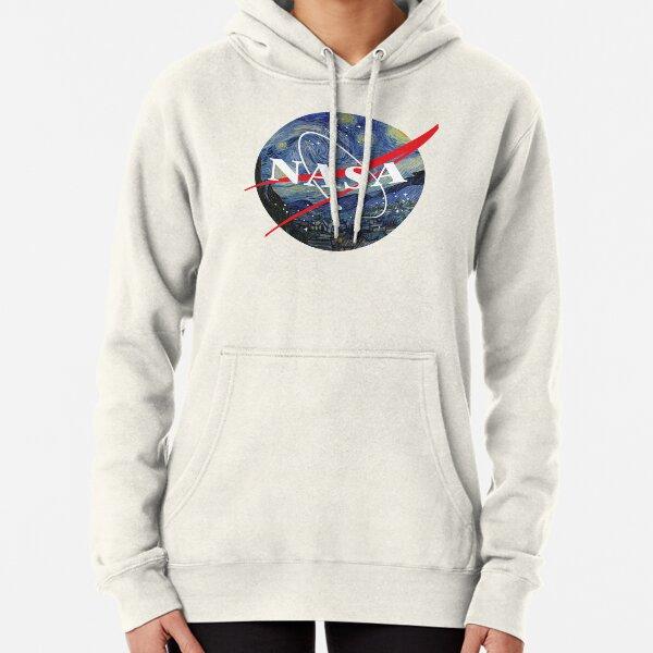 Noche estrellada de la NASA Sudadera con capucha