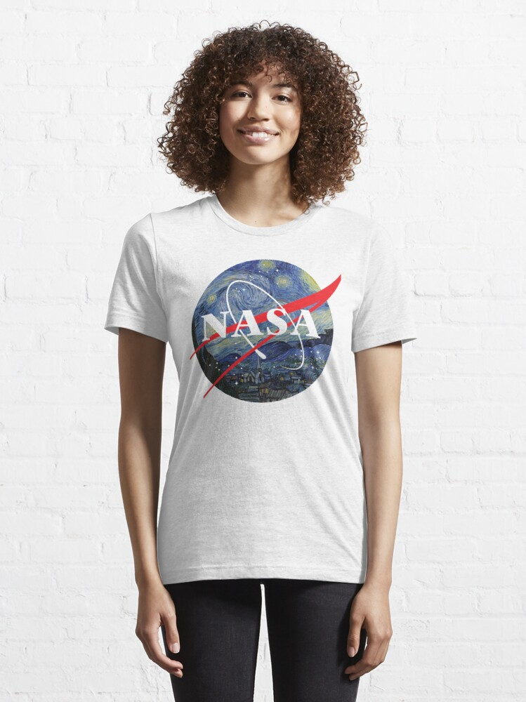 Alternate view of NASA starry night Essential T-Shirt