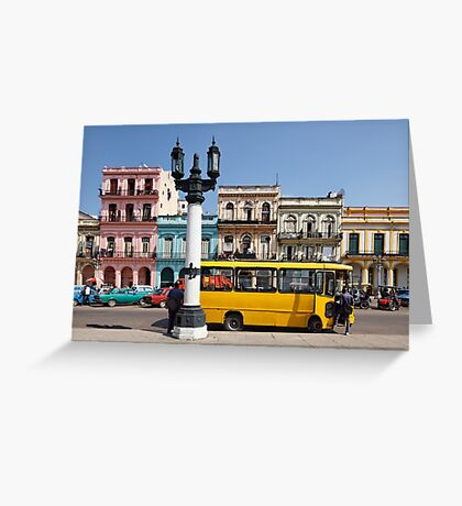 The Yellow Bus Greeting Card