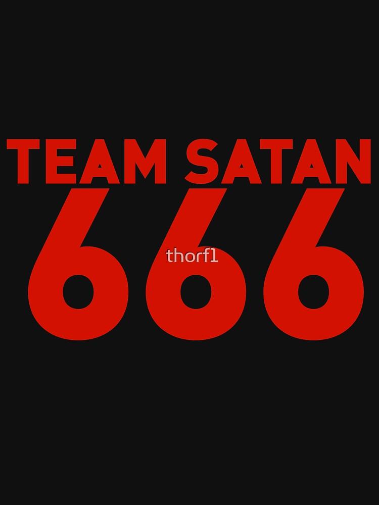 Team Satan 666 by thorf1