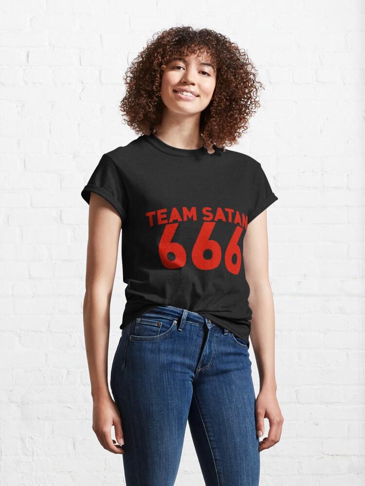 Alternate view of Team Satan 666 Classic T-Shirt