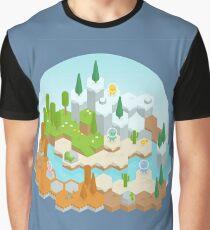 Hex World Graphic T-Shirt