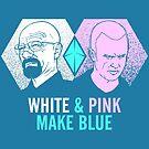White & Pink Make Blue by Tom Burns