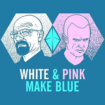 White & Pink Make Blue by tpbiv