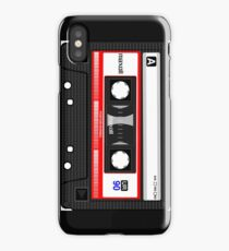 Retro music cassette iPhone Case
