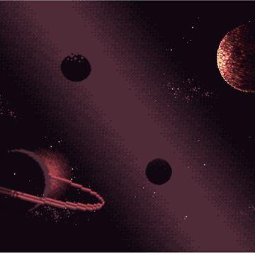 Pixel Space by Gameandgeek