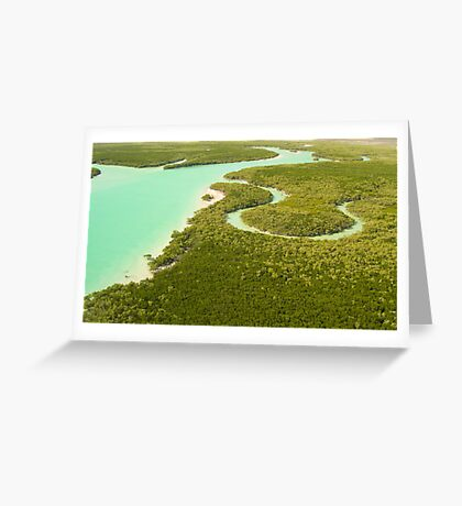 Broome River Greeting Card