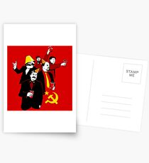 The Communist Party (variant) Postcards