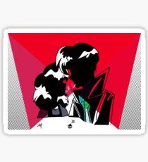 Veronica & J.D. Sticker