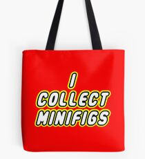 I COLLECT MINIFIGS Tote Bag
