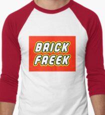 BRICK FREEK  Men's Baseball ¾ T-Shirt