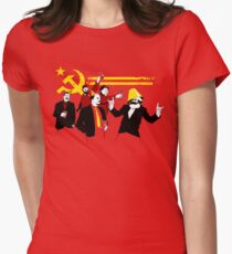The Communist Party (original) Women's Fitted T-Shirt