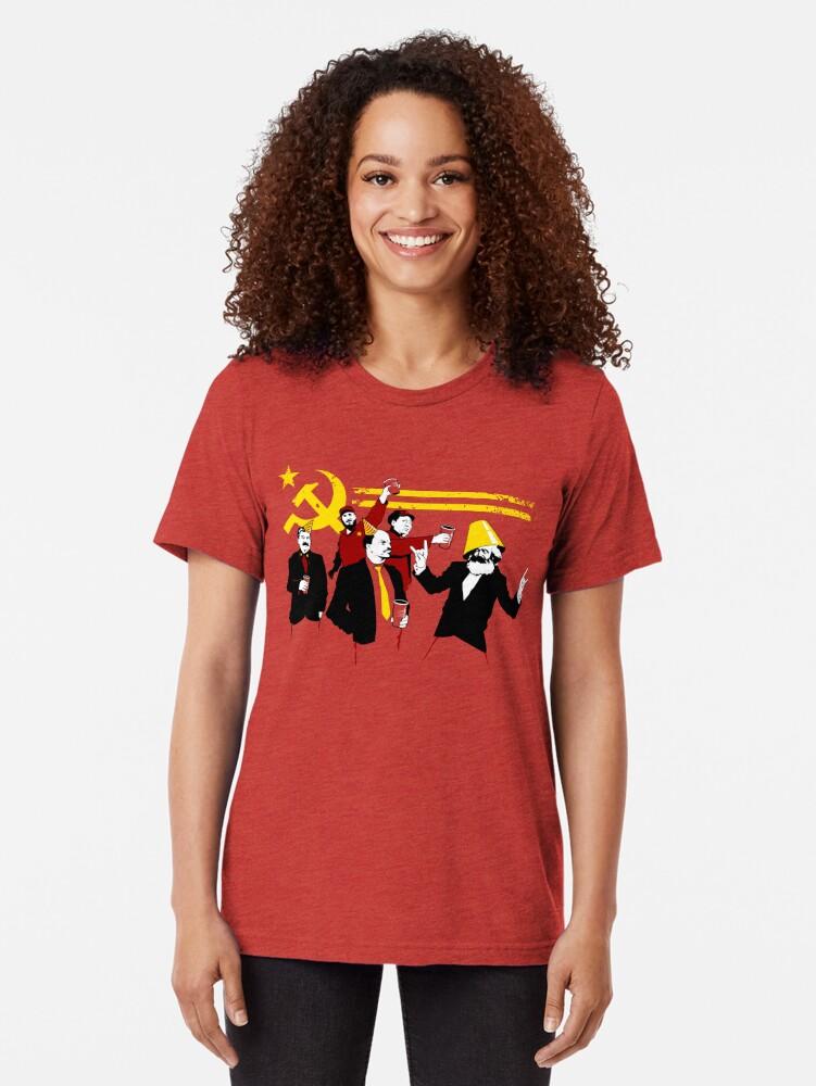 Alternative Ansicht von Die Kommunistische Partei (Original) Vintage T-Shirt