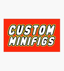 CUSTOM MINIFIGS Photographic Print