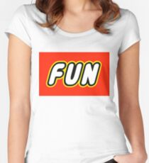 FUN  Women's Fitted Scoop T-Shirt