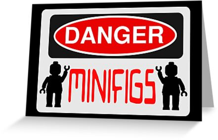 Danger Minifigs Sign by ChilleeW