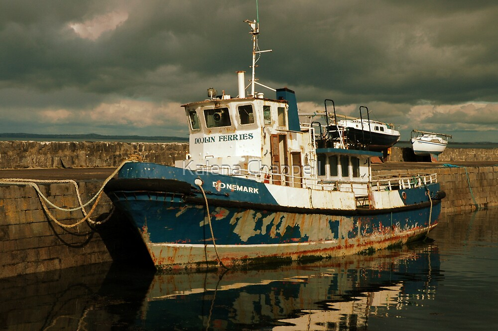 Weathered Ferry by Kalena Chappell