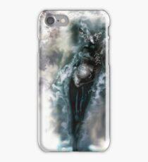 Machine Nightmare {Silver} [ Fantasy Figure Illustration ] iPhone Case/Skin
