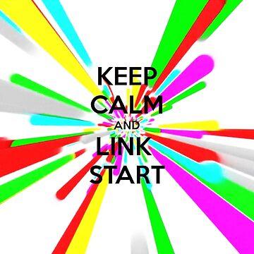 Keep Calm and Link Start by EGOTAKU