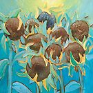 Sunflowers by Claudia Dingle