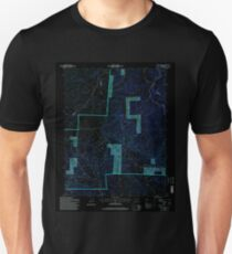USGS TOPO Map Colorado CO Bear Creek 232221 1994 24000 Inverted T-Shirt