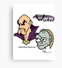 Walter the Wicked & Smeagor! Canvas Print