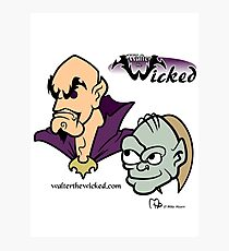 Walter the Wicked & Smeagor! Photographic Print