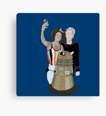 Doctor Who - 12th doctor Canvas Print