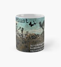 Wanderlust Travel Quote Collection Mug