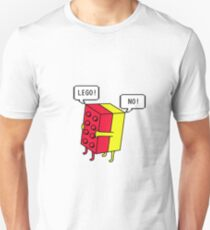 Lego! Traditionell Slim Fit T-Shirt