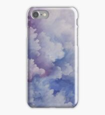 Watercolour Storm Clouds iPhone Case/Skin